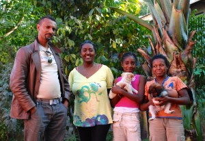 Family picture in Debre Zeyit