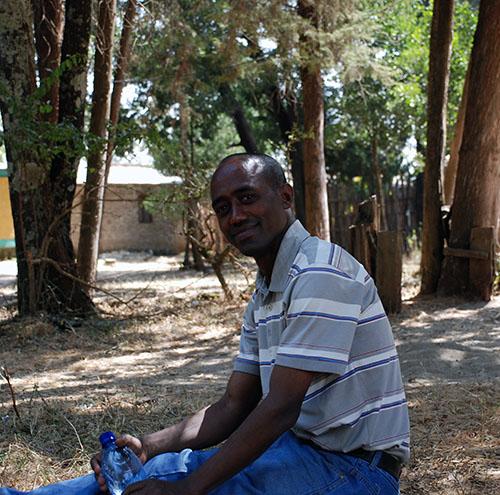 Mein Amharisch Lehrer Mesfin