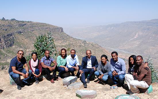 Great Ethiopian Run Team in Debre Libanos