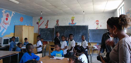 in der Sewasewe Schule in Derbe Libanos
