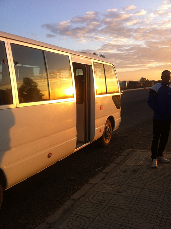 Lauftraining der Elite Athleten in Äthiopien